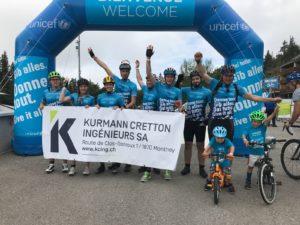 KCi Crans-Montana Unicef Cyclisme