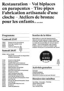 Val d'Illiez Fete village Sponsor KCi Valais
